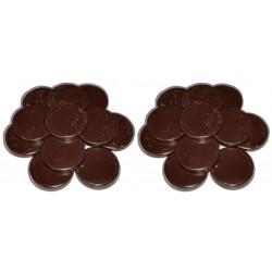 Chocolat - 2 kg Galets cire à épiler