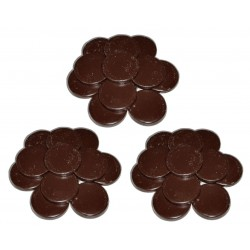 Chocolat - 3 kg Galets cire à épiler traditionnelle
