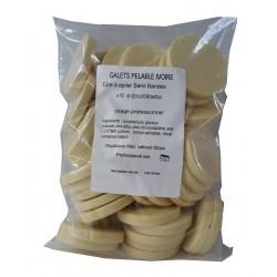 IVOIRE - NACREE - 1kg Galets de cire à épiler Pelable