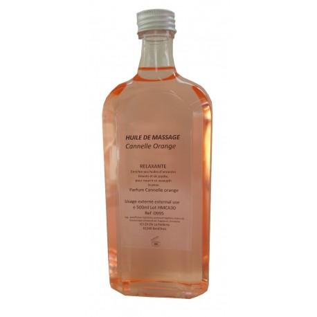 Cannelle Orange - Huile de massage - 500 ml