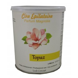TOPAZ - Pot 800 ml de cire à épiler jetable