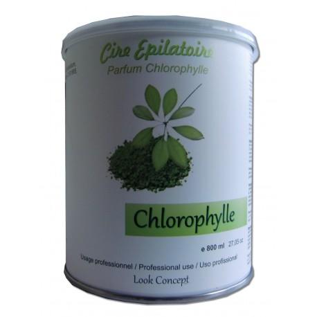CHLOROPHYLLE - Pot de 800 ml de cire à épiler