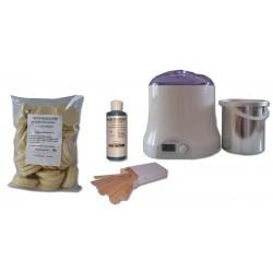 Cid Epil. Kit 800 ml - 1 kg cire pelable galets IVOIRE
