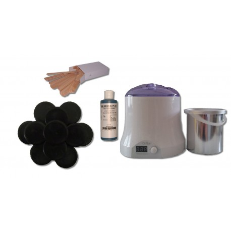 Cid Epil. Kit 800 ml - Cire Tradit. 1 kg Galets Epilom