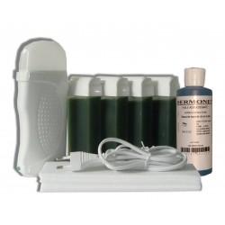 Kit épilation 4 x 100 ml - CHLOROPHYLLE Cire à épiler