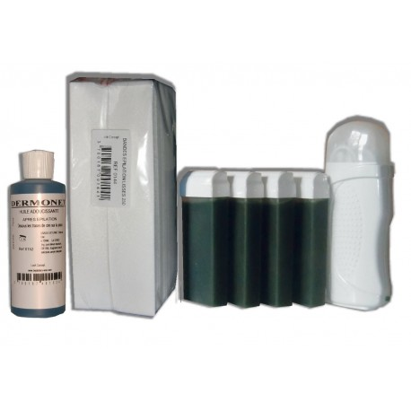 Kit Epil 4 x 100 ml CHLOROPHYLLE - Cire à épiler