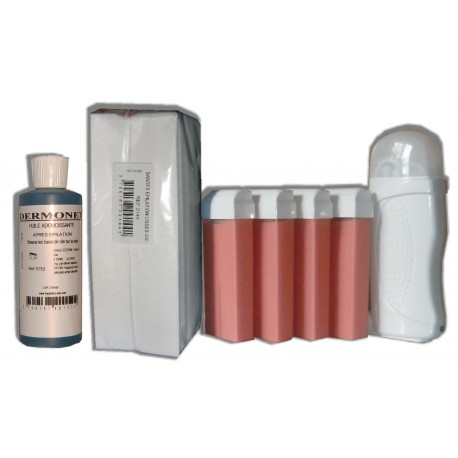 Kit Epil 4 x 100 ml ROSE - Cire à épiler roll on