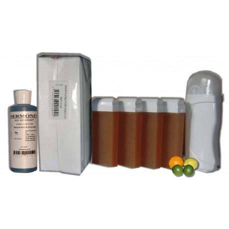 Kit épil 4 x 100 ml MIEL AGRUMES - Cire à épiler