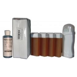 Kit Epil - Chauffe-cire, MIEL 4 x 100 ml
