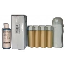 Kit Epil 4 x 100 ml NACREE - Cire à épiler hypoallergénique