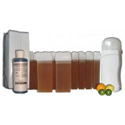 Kit épilation 12 x100 ml MIEL AGRUMES - Cire à épiler