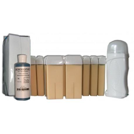 Kit épilation 12 x 100 ml NACREE - Cire à épiler