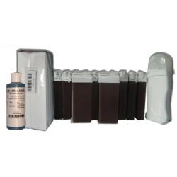 Kit épilation 12 x 100 ml CHOCOLAT - Cire à épiler