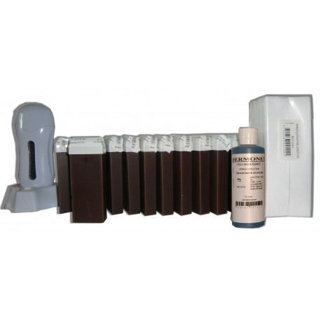 Chocolat - SEO - Kit épilation 12 x 100ml Roll On