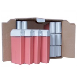Pack recharge roll on 100 ml - Cire jetable Care'S Rose en lot.