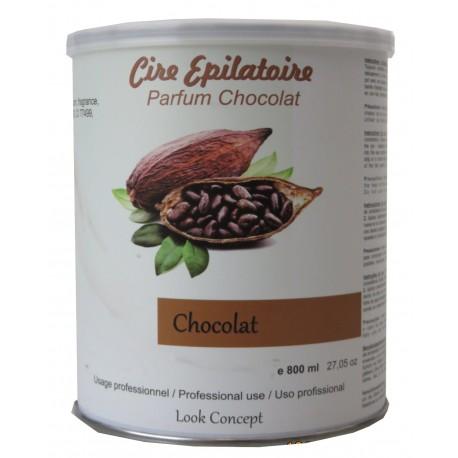 CHOCOLAT - Pot 800 ml de cire à épiler