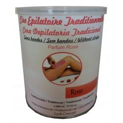 Pot de cire à épiler traditionnelle - 800 ml - ROSE