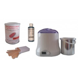 Cid Epil. Kit épilation ROSE pot 800ml cire pelable