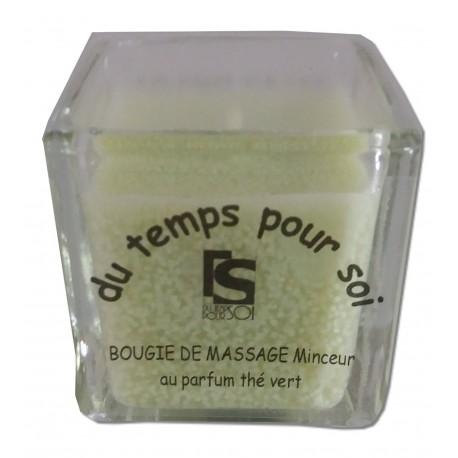 Thé Vert - 60 g - Bougie de massage parfumée