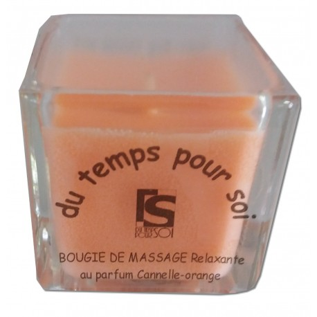 Cannelle Orange - 60 g - bougie de massage