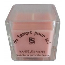 Bougie de massage Barbe à papa - 60 g
