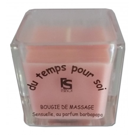 Bougie de massage Barbe à papa - 60 g