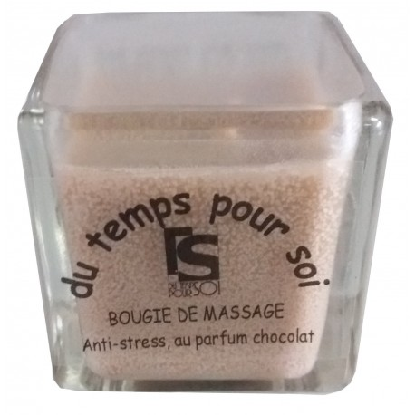 Chocolat - 60 g - Bougie de massage parfumée