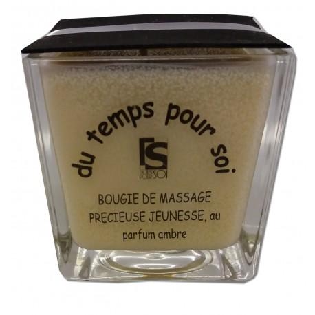 AMBRE - 210 g - Bougie de massage