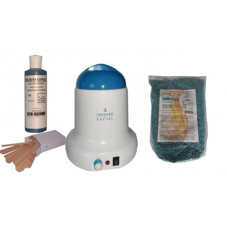 Kit épilation 800ml - Cire Pelable ultimicire 1 kg Pastilles