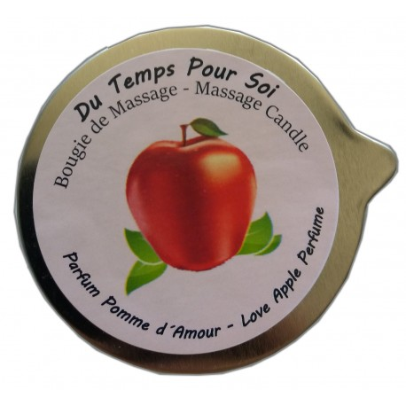 Pomme d'Amour 150 g - Bougie de massage