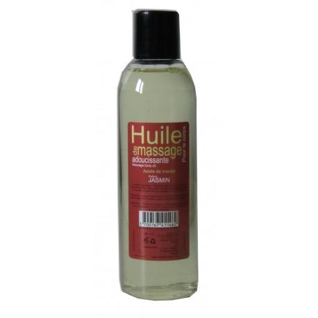 Huile adoucissante de massage pour le corps, 200 ml, parfum Jasmin