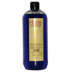 Une huile de massage Orange pekeo. Bidon d'un litre pour un bon massage