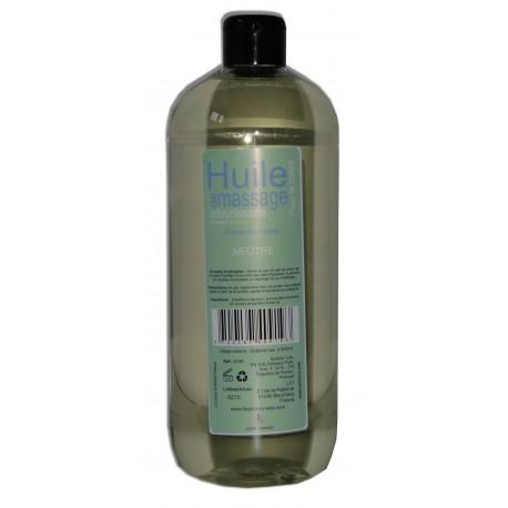 Neutre - 1 litre - Huile de massage adoucissante PRO