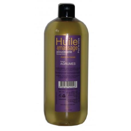 Adoucissante - Huile de massage - Agrumes - 1 litre