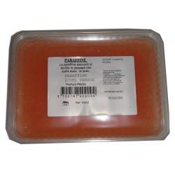 Paraffine manucure pédicure - Couleur ORANGE parfumée à la pêche - 500 ml