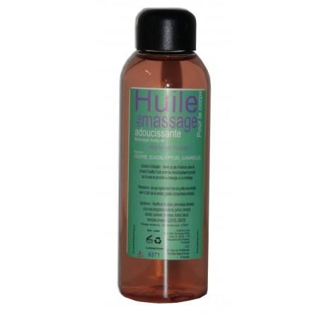 Cannelle Eucalyptus Cèdre -75 ml - Huile de massage adoucissante
