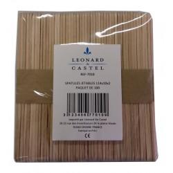Spatule bois visage - Sachet de100 - Léonard de Castel
