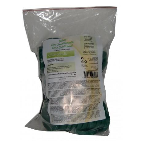 Galets de cire à épiler traditionnelle 1 kg - Verte