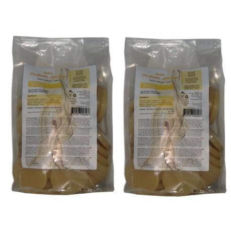 Blonde - 2 kg Galets cire pelable