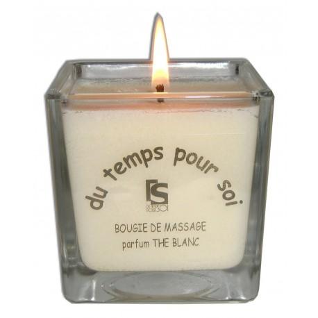 Bougie de massage Thé Blanc - 210 g