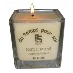 Bougie de massage neutre et sans odeur, 210g