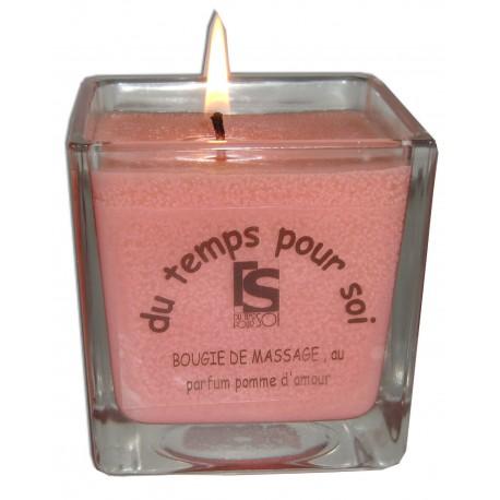 Bougie de massage Pomme d'Amour - 210 g