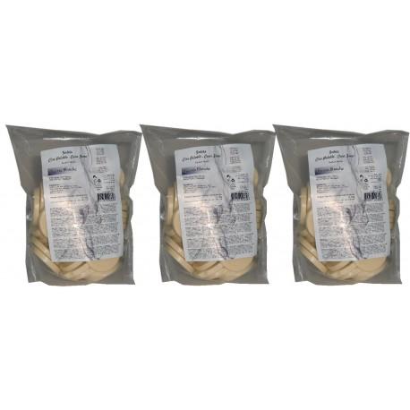 Nacrée blanche - 3 kg Galets de cire à épiler Pelable