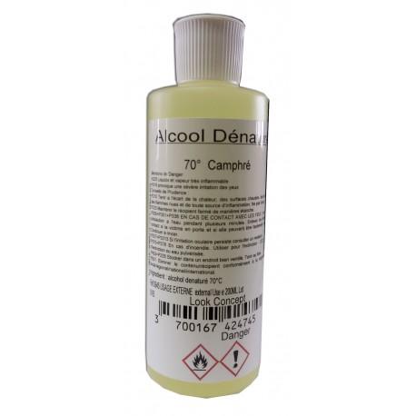 Alcool dénaturé 70° Camphré - 250 ml