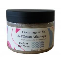 Sel de gommage corps - Thé blanc - 200 g