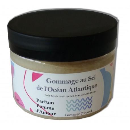 Sel de gommage corps - Pomme d'amour - 200 g