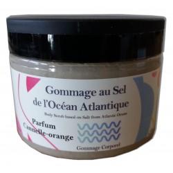 Cannelle orange - Sel de gommage corps - 200 g