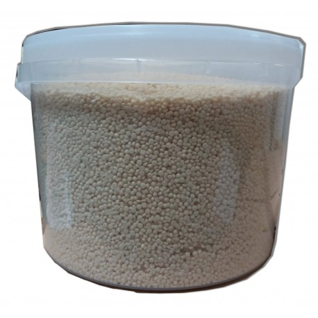 NACREE BLANCHE.5 kg Cire pelable fine en perles