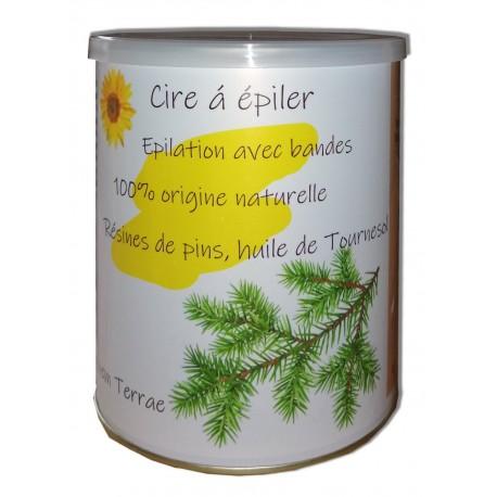 Cire NATURE - Pot 800 ml de cire à épile natureller