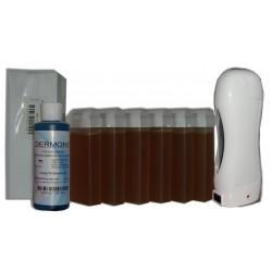 Topaz type miel - SOLOR - Kit 6 x 100ml - 250 bandes